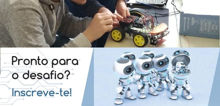 Inscreve-te no Curso de Robótica